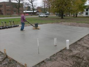 Jackson concrete pads for RV, sheds, AC, basketball